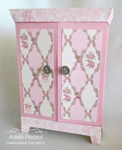 CARD ARMOIRE at www.creationsbyar.com