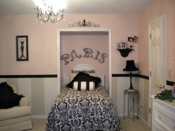 12 Clean Girls Paris Themed Bedroom Photography Paris Themed Bedroom Hot Pink Girls Bedroom Paris Girls Bedroom