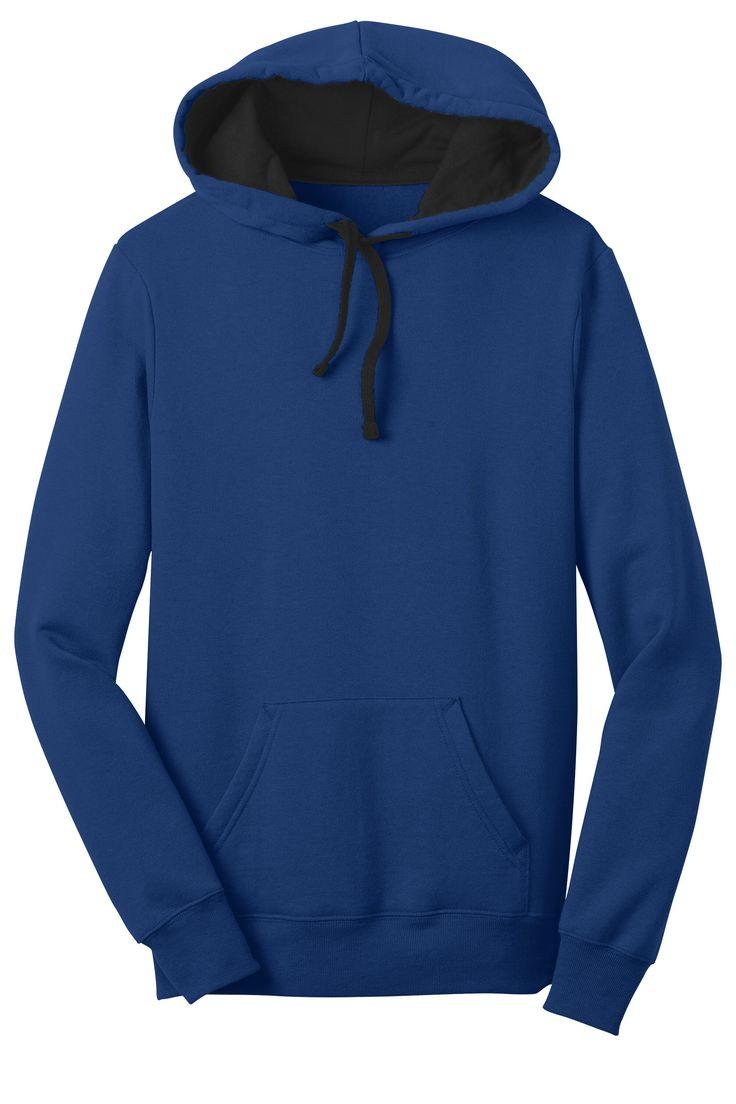District Juniors Concert Fleece Hooded Sweatshirt Hoodie DT811