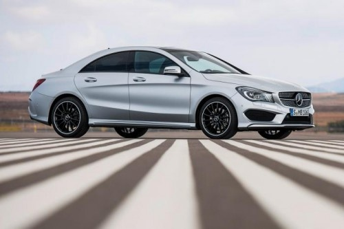 2013 New Mercedes CLA Saloon Price And Picture