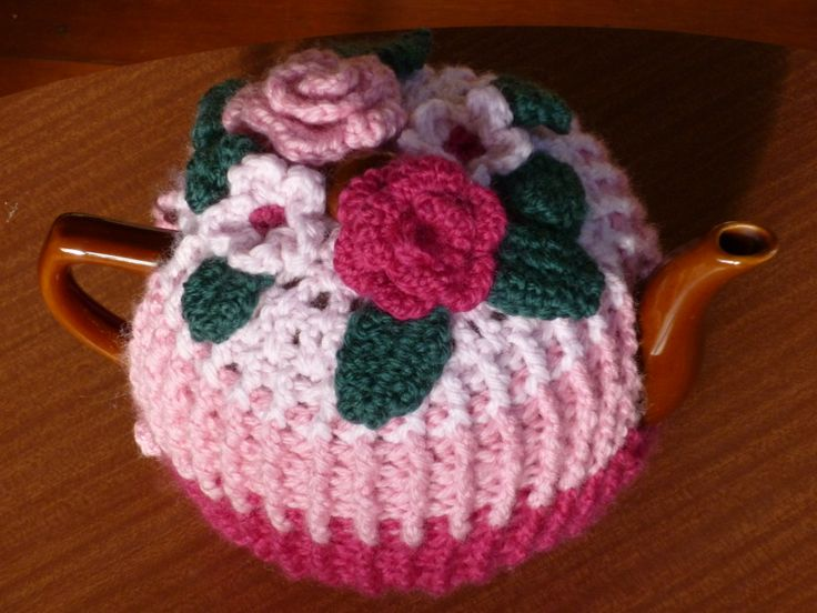 570 best Crochet - Teapot Cosies, Mug Cosies, And Coasters ! images on Pinterest
