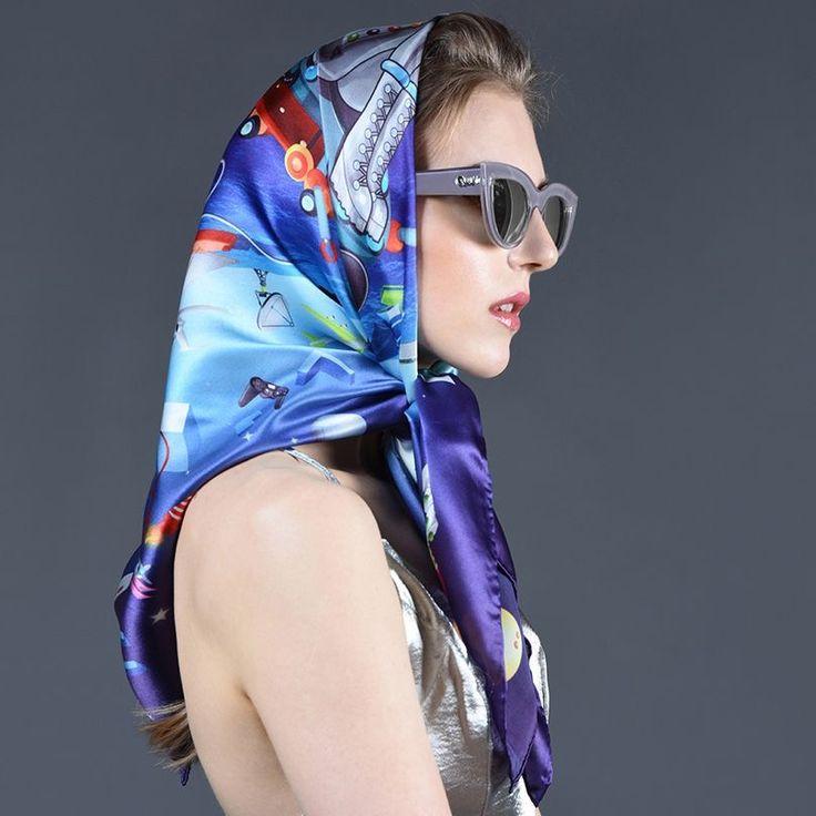 1441 Best Silk Headscarves Images On Pinterest
