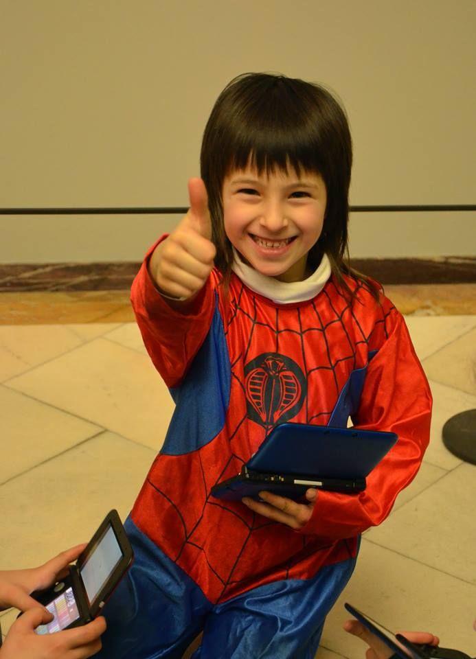 Anche SpiderMan ha partecipato al pomeriggio in Pinacoteca, alla scoperta del Carnevale tra le opere d'arte! #smile #kids #art #fun #brera #museobrera