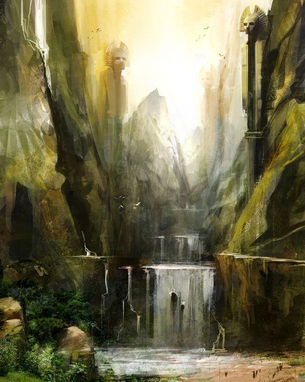 Waterfall from Guild Wars: Eye of the North