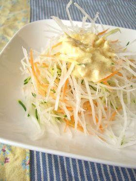 びっくりドンキー風♪大根サラダ