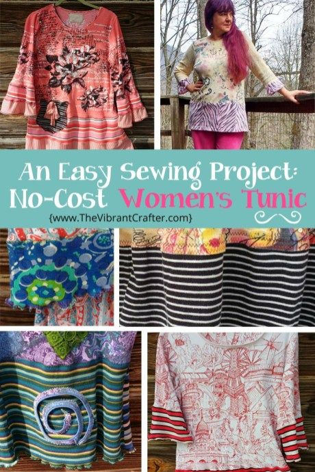 Sewing Upcycled Clothing Easy Diy Easy 90 Minute Sewing Project