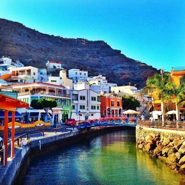 Puerto de mog n gran canaria places i want to visit pinterest - Puerto mogan gran canaria ...