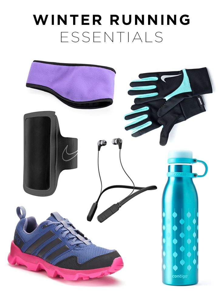 Going for a run outside in winter is a lot different than summer. But that doesn't mean you have to stay inside—you just need the right gear. Featured product includes: Nike Element thermal 2.0 colorblock women's running gloves and lightweight fitness armband 2.0, Igloo microfleece reversible headband, Contigo Matterhorn 20-oz. stainless steel water bottle, adidas Outdoor GSG9 women's trail running shoes and Skullcandy Ink'd Bluetooth earbuds. Find your fit with Kohl's.