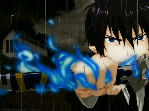 Blue Fire of Rin Okumura -Ao No Exorcist-