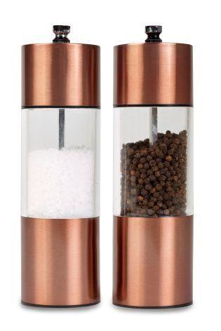 Buy Copper Effect Salt And Pepper Grinder Set from the Next UK online shop