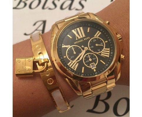 9363e810184a0 Pin de Kelly Rocha em Relógios ⌚ em 2018   Pinterest   Michael kors, Michael  kors watch e Watches