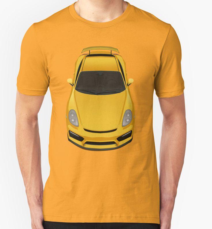 Porsche cayman GT4 (yellow) by Subspeed