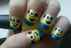 Despicable Me nails!
