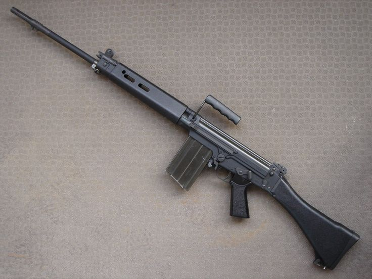 """Fn Fal .308, also known as """"The Right Arm Of The Free World"""""""