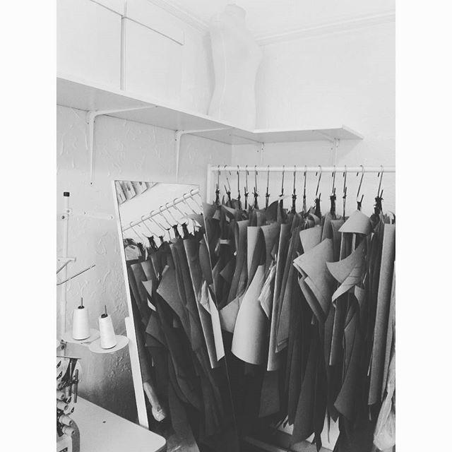 Studio today... patterns!    #laraklawikowski #fashion #designer #design #studio #woodstock #capetown