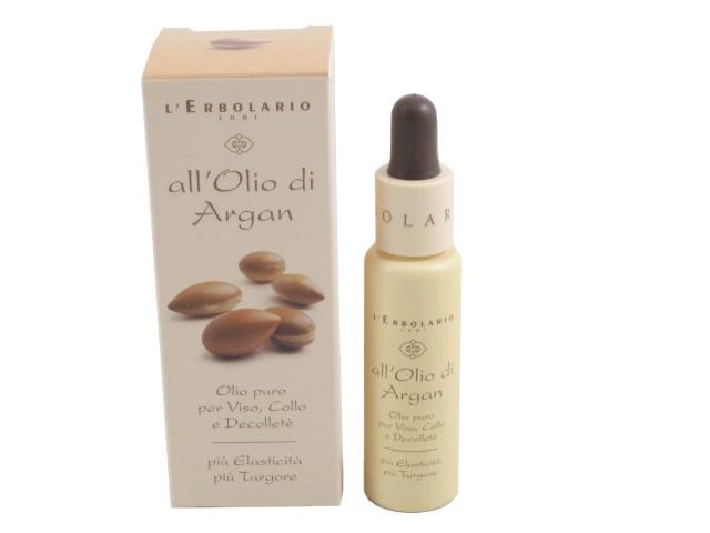 Olio di Argan (Argan Oil) for the Face, Neck and Neckline by L'Erbolario Lodi #Argan #natural