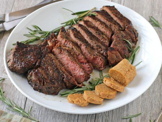 Grilled Porterhouse Steak With Paprika-Parmesan Butter Recipe - Food.com
