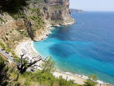 Moraira Spain. Been on that beach!