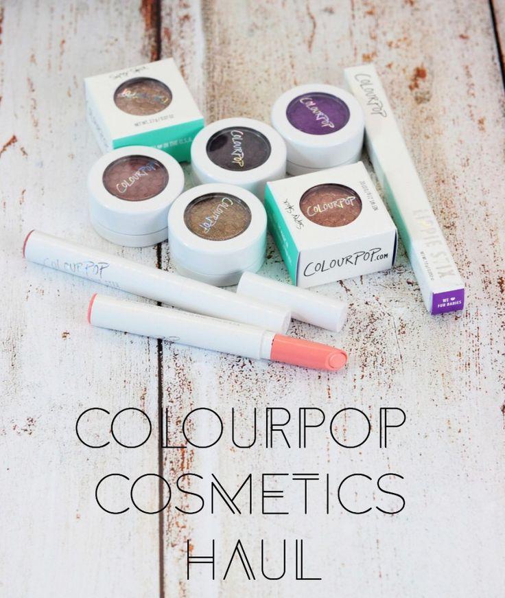 ColourPop Haul & Swatches - Cream's Beauty Blog