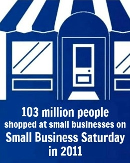 Did you know? 103 million people shopped at small businesses on Small Business Saturday in 2011