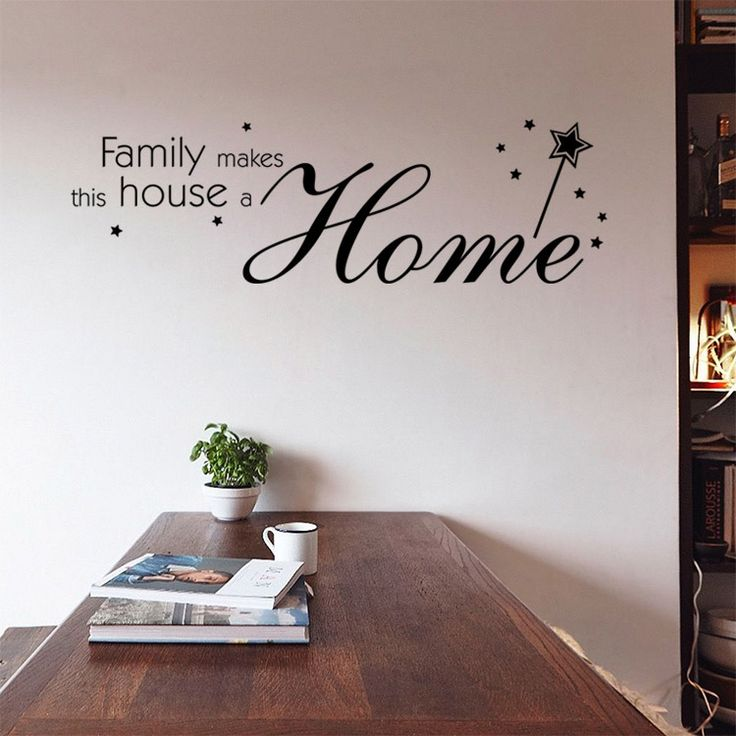 9348 family wall stickers dining room mural decorations