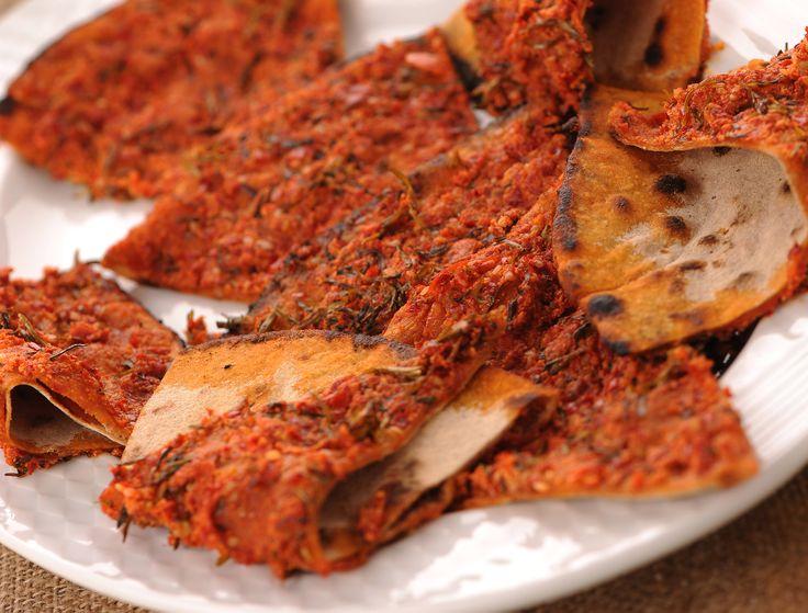 Akdeniz hatay sofras biberli ekmek turkish food for Akdeniz turkish cuisine