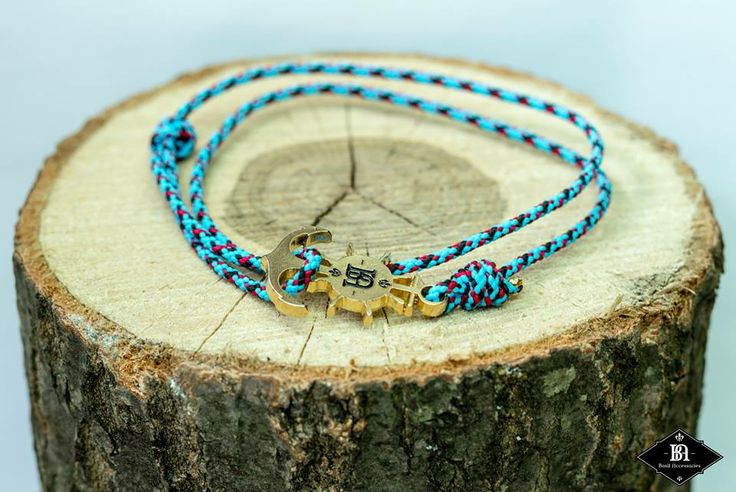 Belgian Dandy: Anchor Bracelets from Basil Accessories