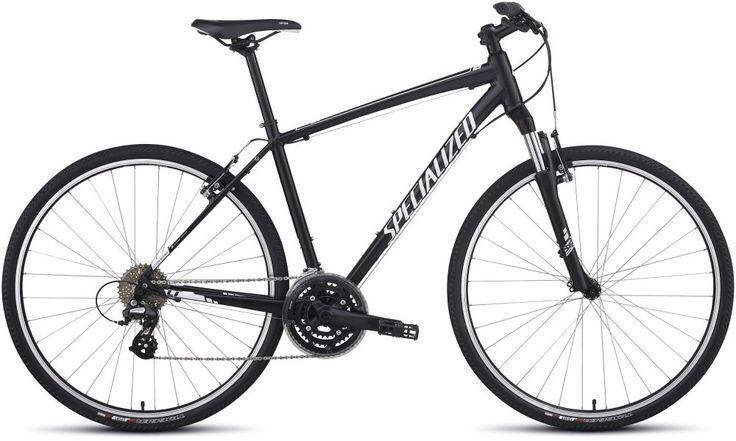 Specialized Crosstrail Cross Trekking Fahrrad schwarz/weiss 2014 L
