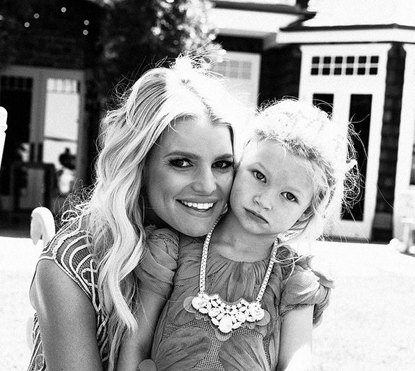Jessica Simpson attacked over a photo of her daughter on Instagram.
