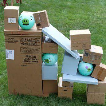 Angry Birds dans la vraie vie