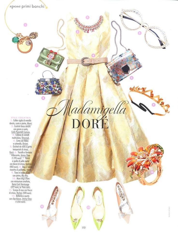 Carlo Pignatelli featured on Elle Spose N.13 #carlopignatelli #couture #sposa #bride #matrimonio #wedding #newcollection #madeinitaly #abitodasposa #weddingdress #bridalgown #editoria