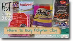 Resource List of Where to Buy Polymer Clay