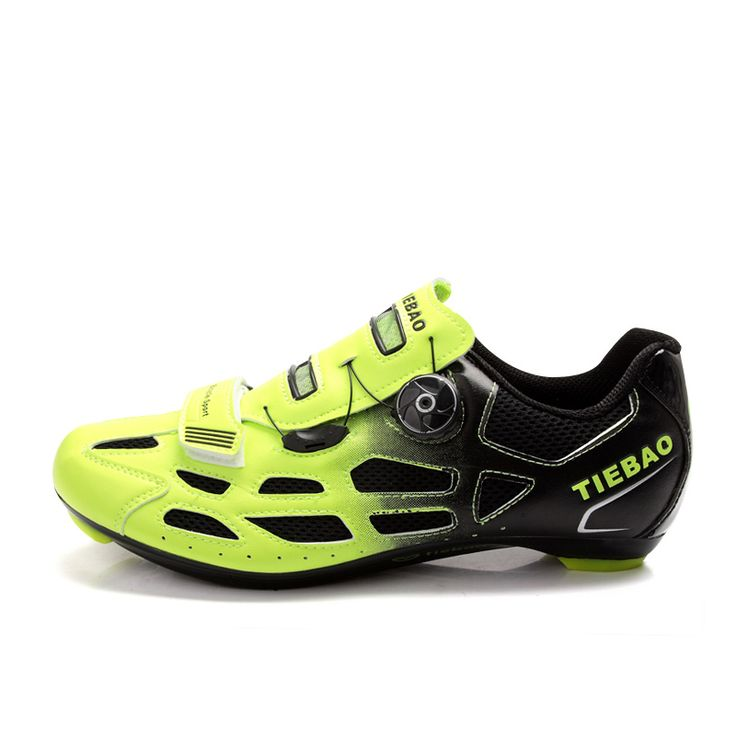 TIEBAO 6-1259 Hot Sale Professional Racing Cycling Shoes Unisex Breathable Compatible LOOK-KEO SPD Cleat Outdoor Road Bike Shoes