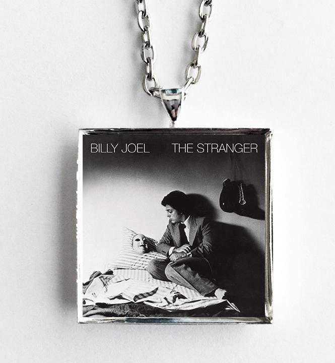 Billy Joel - The Stranger - Album Cover Art Pendant Necklace