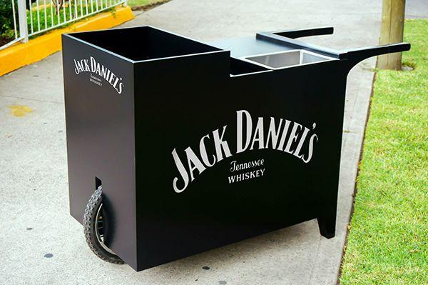 Jack Daniel's Cocktail Car on Behance