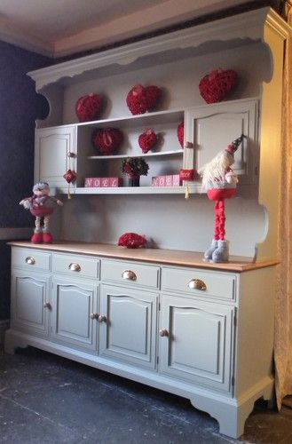 Welsh Dresser by Stag  Sideboard   Kitchen Unit   hand painted Shabby Chic    eBay. 17 Best images about Dressers on Pinterest   Solid pine  Kitchen