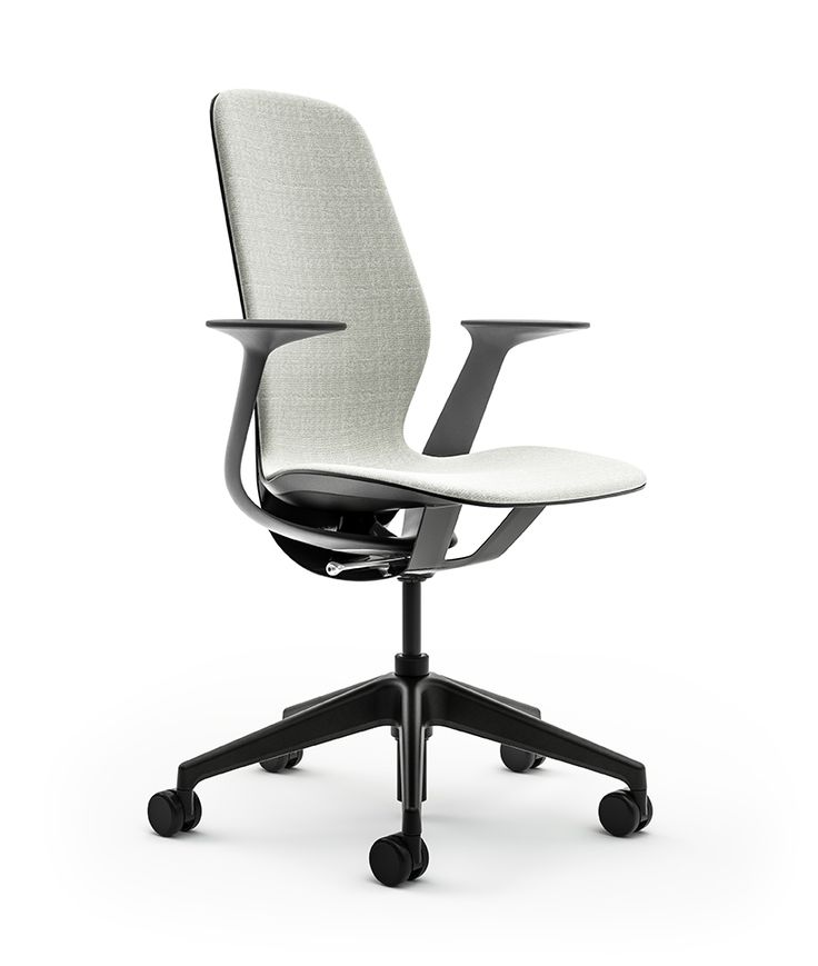 steelcase's silq chair features a material performing like carbon fiber
