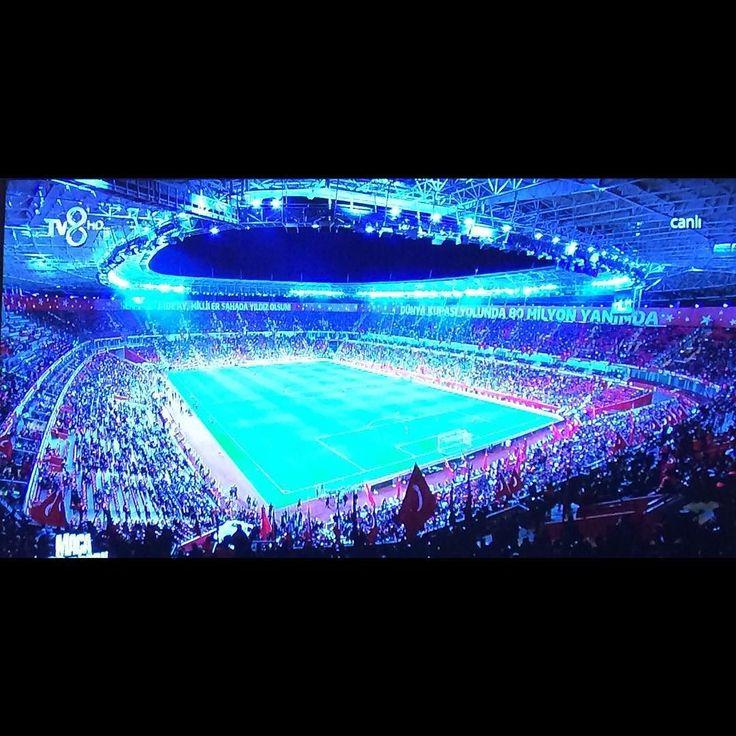 Maça hazırız.Haydi Milliler... #amillitakım #ayyıldız #europeanchampions