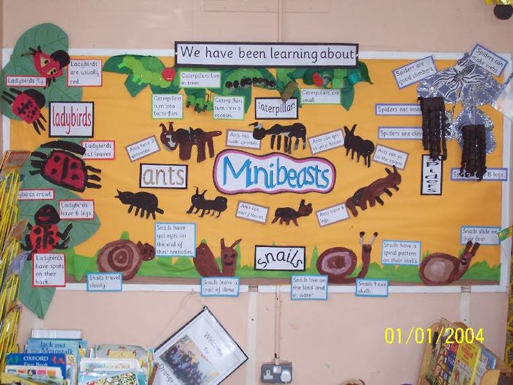 Great display for the classroom to show off the learning
