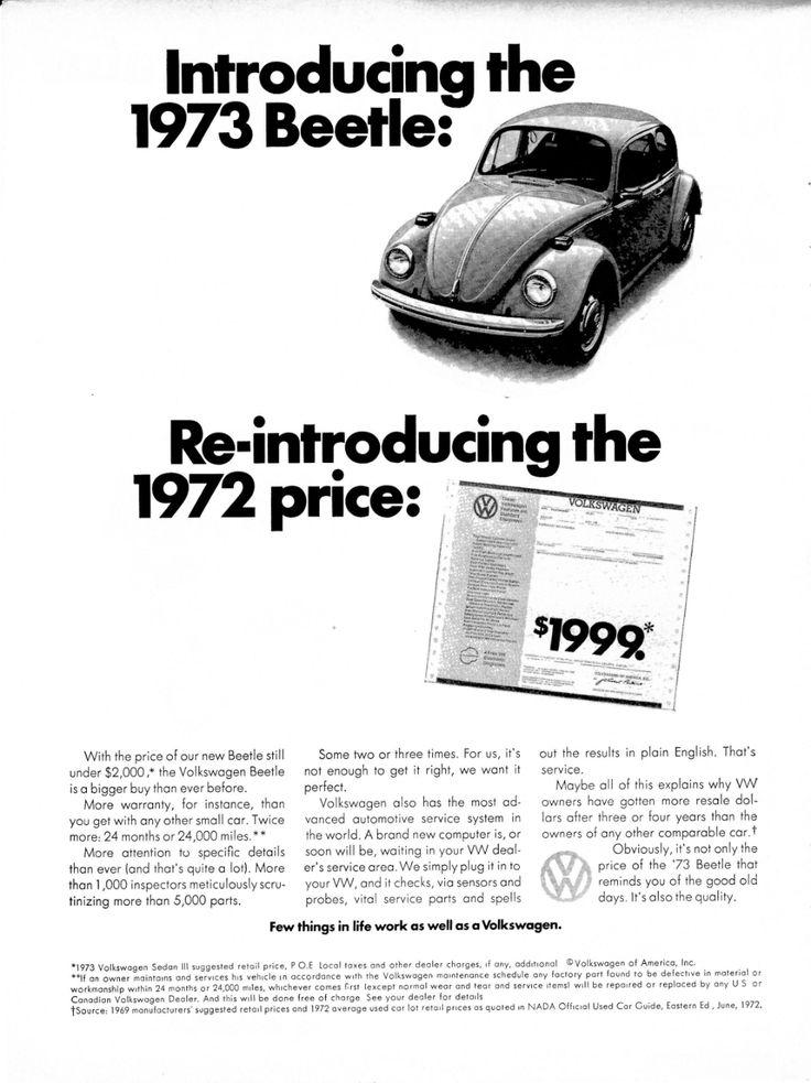 1973 Vw Beetle Volkswagen Under 2000 The 73 The 72 Etsy In 2020 Volkswagen Vw Beetles Beetle