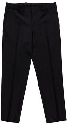 Gucci Wool Flat Front Trousers