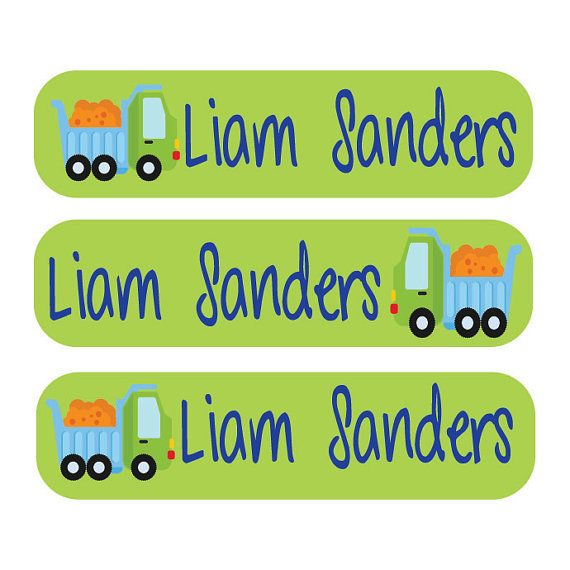 40 Dishwasher safe and Waterproof Kids Labels - Great for daycare, school, baby bottles, sippy cups and more