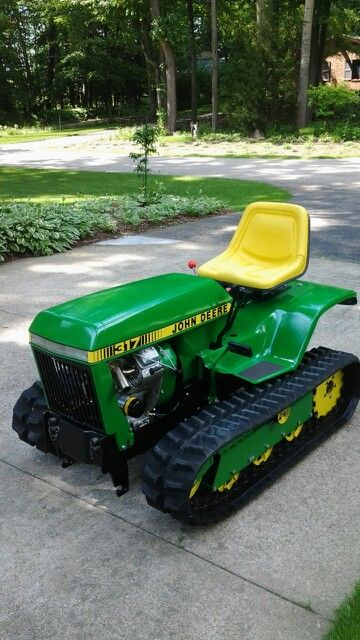 John Deere crawler conversion 2015