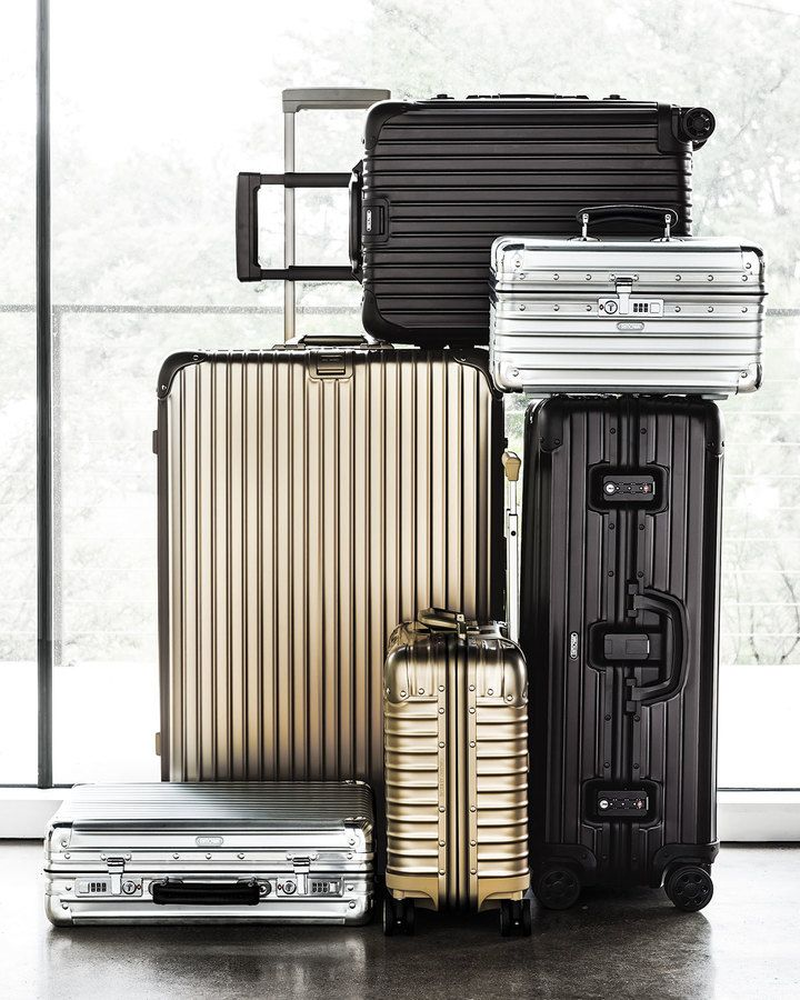 Is it spring break yet?? Get prepared for it with these Rimowa classic flight luggage pieces