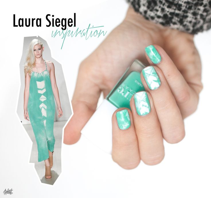 Laura Siegel inspired nails by Pshiiit