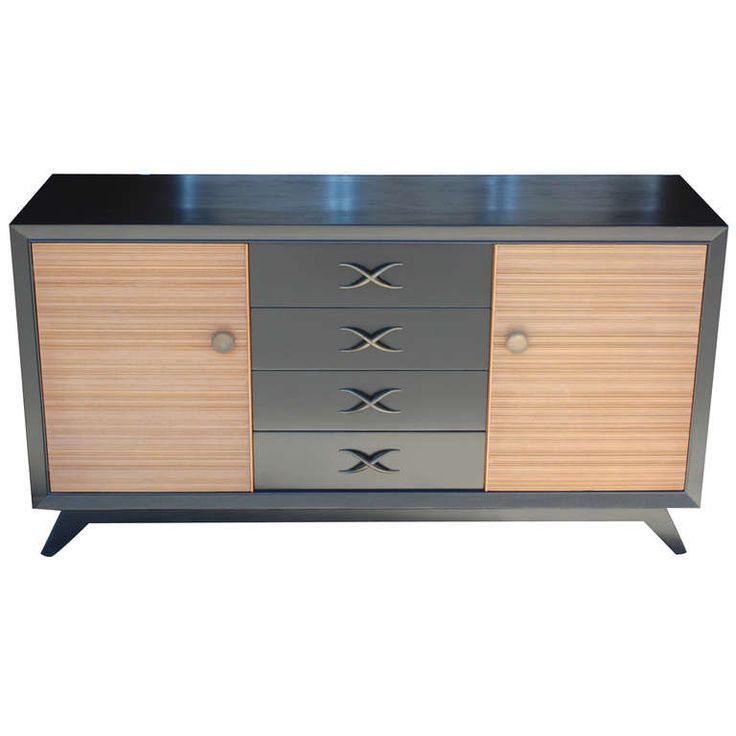 Paul Frankl for Brown Saltman Credenza/Buffet   From a unique collection of antique and modern credenzas at http://www.1stdibs.com/furniture/storage-case-pieces/credenzas/