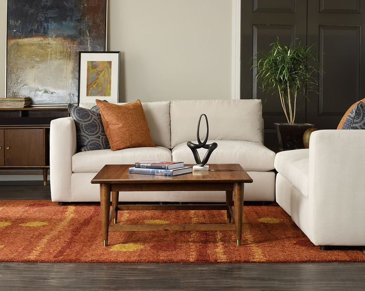 Double-Latte Square Coffee Table, Walnut | One Kings Lane