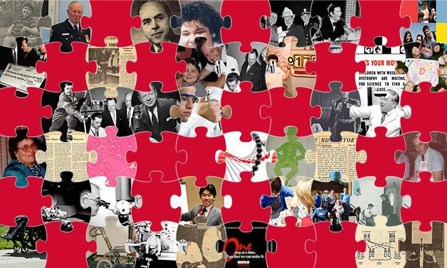Five new puzzle pieces have been added to the 60 Years of Progress puzzle! Come check out the new stories