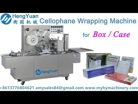 BTB-A Automatic Transparent Film Cellophane Wrapping Packing Machine for...
