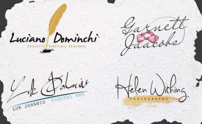 create a Professional Signature Logo